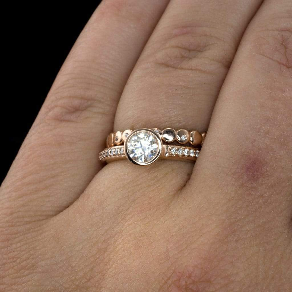 watch round si g diamond gold ring youtube white carat ct engagement