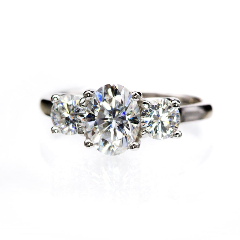 Oval Cut Moissanite Stone