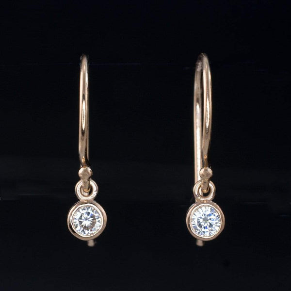 Moissanite Dangle Earrings