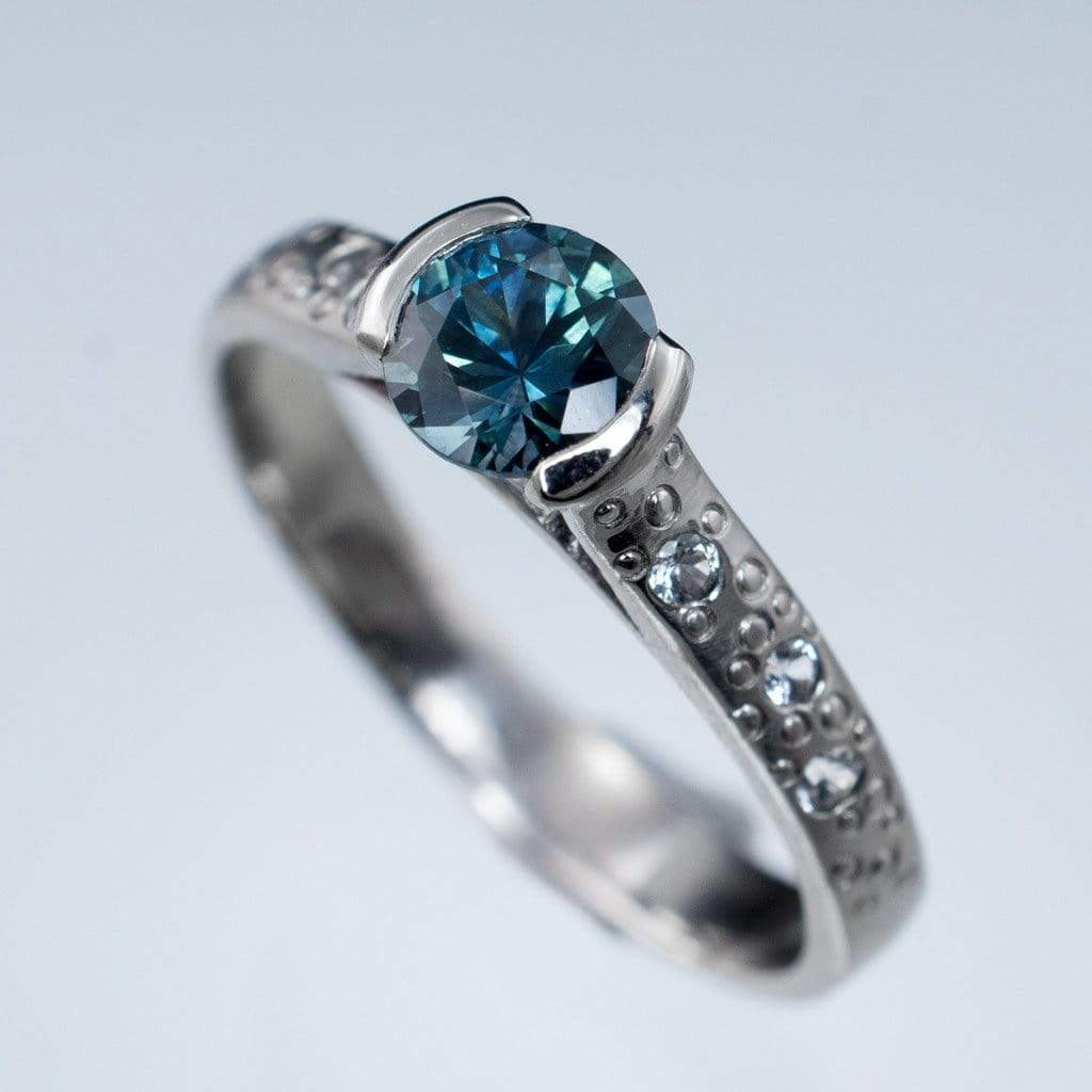 index color sapphire cushion real b blue halo loose jewelry ring cut amazing