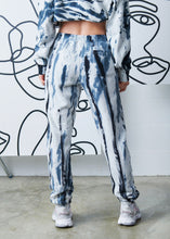 Load image into Gallery viewer, The Tie-Dyed Track Pant - Stormy