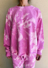 Load image into Gallery viewer, The Oversized Tie-Dye Crew - Candy Pink