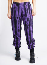 Load image into Gallery viewer, The Tie-Dye Zipper Track Pant - Violet