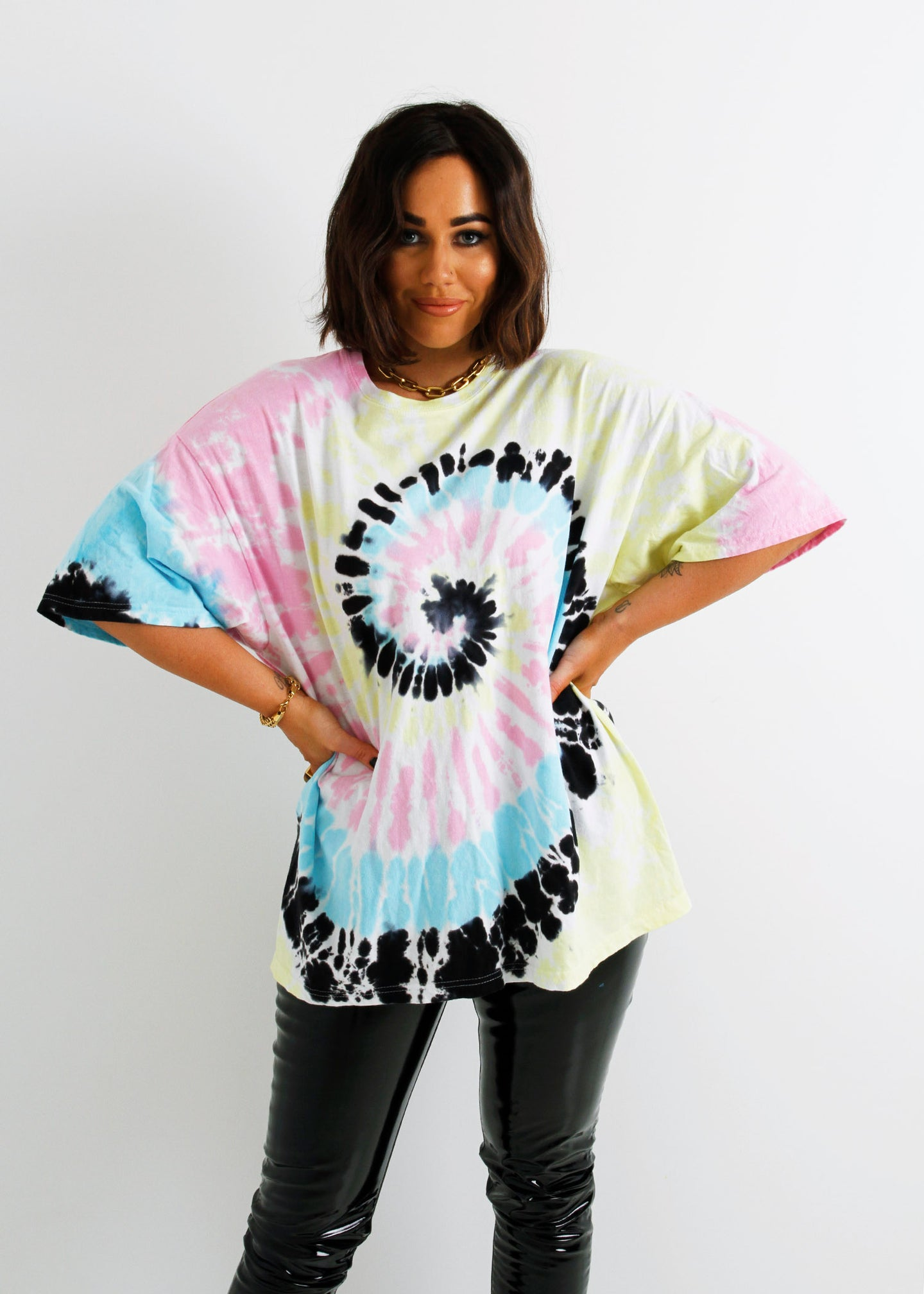 The Tie-Dye Tee - Technicolour