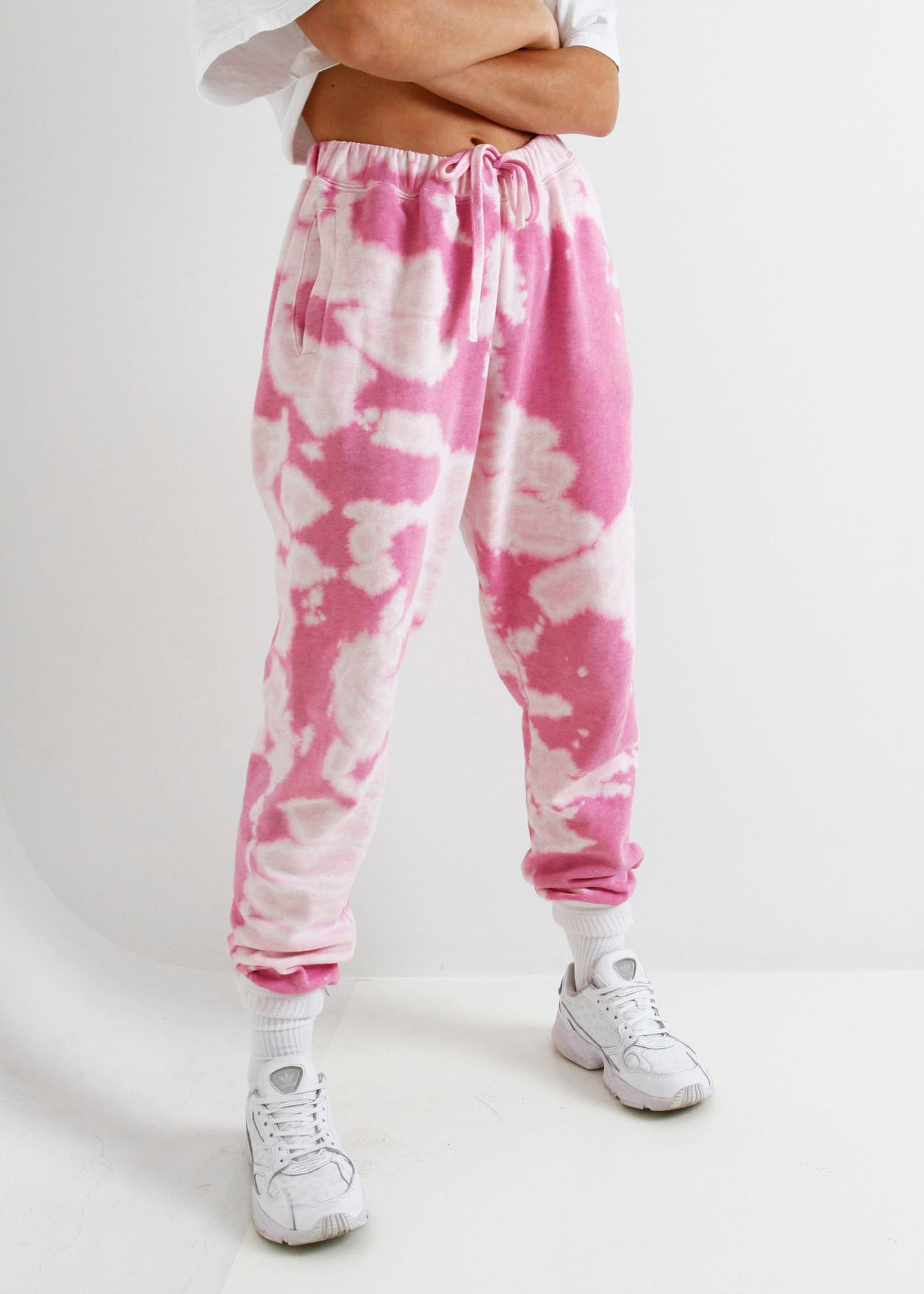 The Tie-Dyed Track Pant - Candy