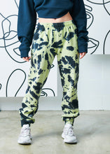 Load image into Gallery viewer, The Tie-Dye Zipper Track Pant - Kiwi
