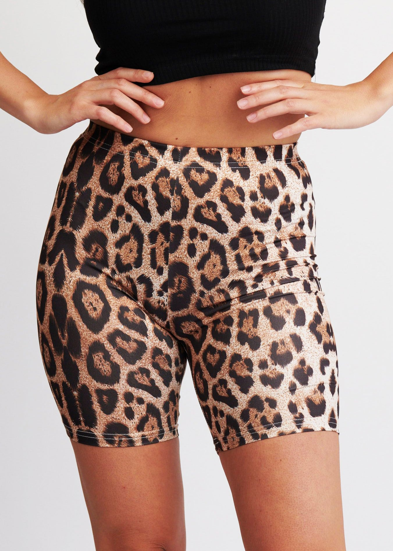 The Leopard Bike Short
