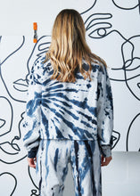 Load image into Gallery viewer, The Oversized Tie-Dye Crew - Stormy