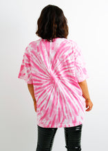 Load image into Gallery viewer, The Tie-Dye Tee - Tonal Pink