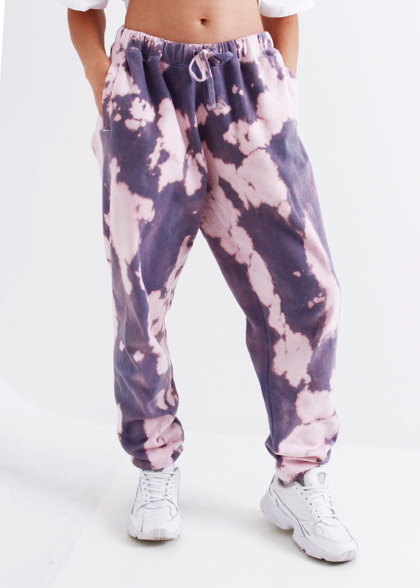 The Tie-Dyed Track Pant - Sunset