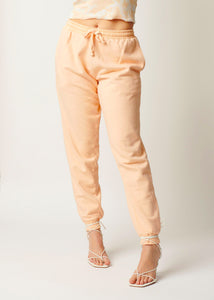 The Track Pant - Peach