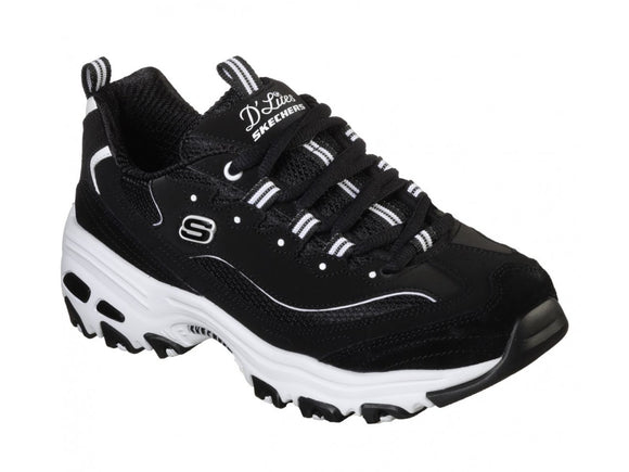 Skechers, DLites March Forward - Black/White