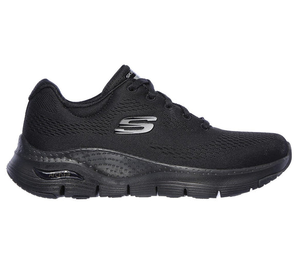 Skechers, Arch Fit Dame - Sort