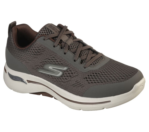 Skechers - Herre sneakers - Go Walk Arch Fit - Brun