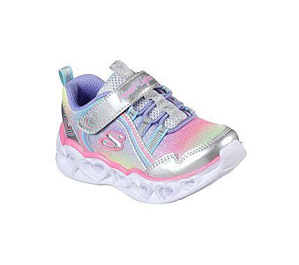Skechers, Girls Heart Lights - Regnbue
