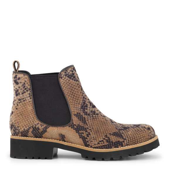 Green Comfort, Strike Chelsea Boot - Slangeprint