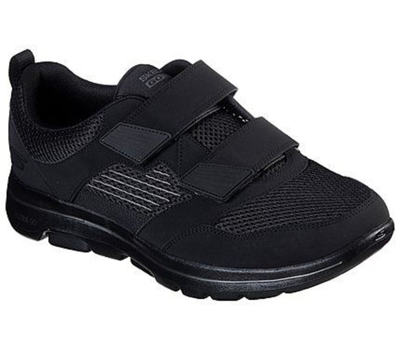 Skechers, GoWalk 5 m/velcro - Sort