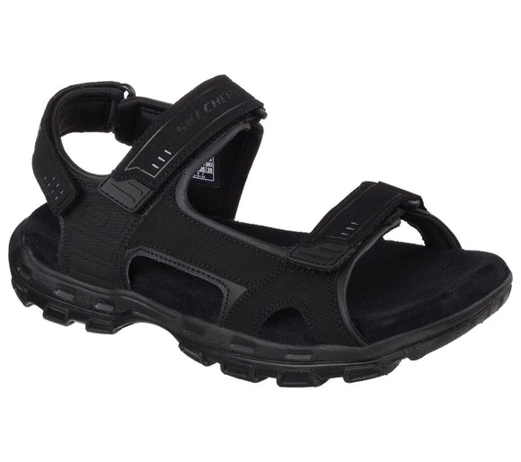 Skechers, Relaxed Fit Sandal - Sort