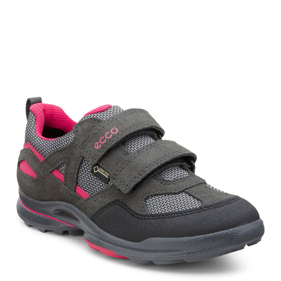 Ecco, Biom Ultra Kids Gore-Tex - Sort/Grå/Pink