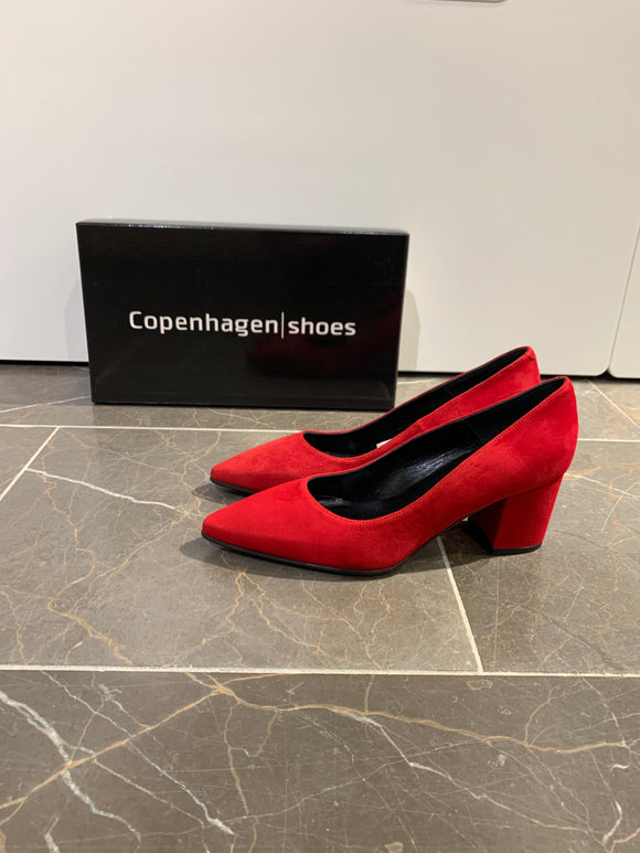 Copenhagen Shoes, Pump - Rød