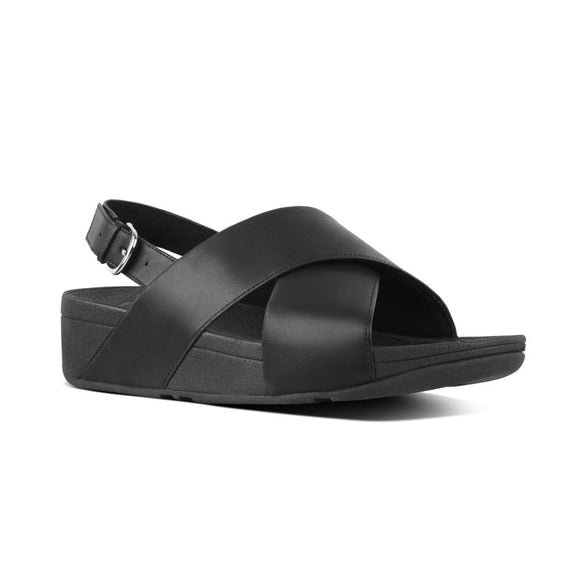 Fitflop, Lulu Cross sandal - Sort