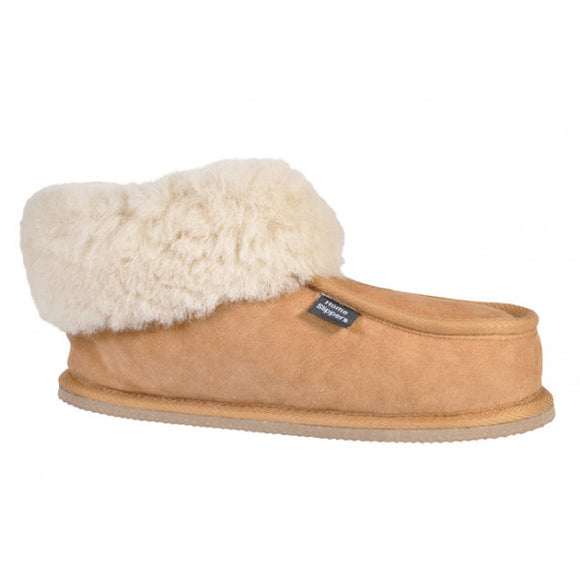 Home Slippers - Chestnut