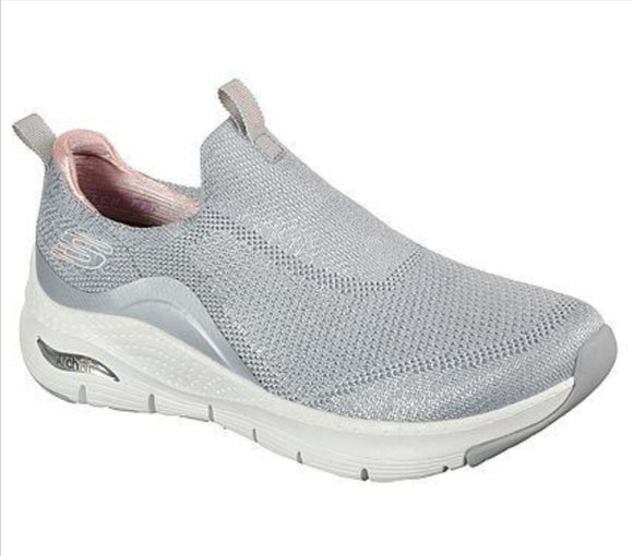 Skechers, Dame sneakers - Womens Arch Fit - Grå