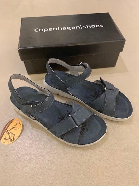 Copenhagen shoes, Vega - Blå