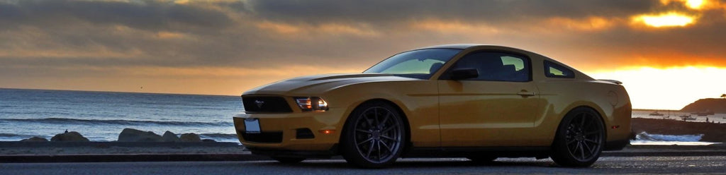 Ford Mustang with Throttle Controller