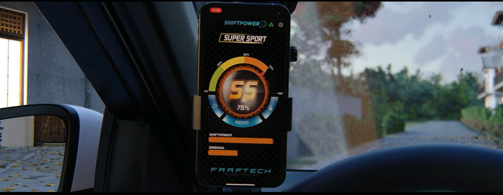 ShiftPower iphone & andriod App for throttle controller