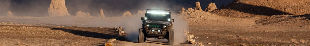 Jeep driving with improve acceleration and speed off road