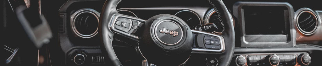 Jeep steering wheel and acceleration