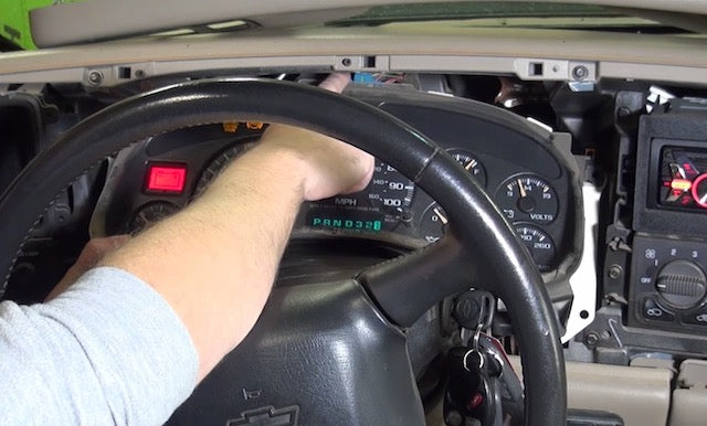 Chevy cluster install