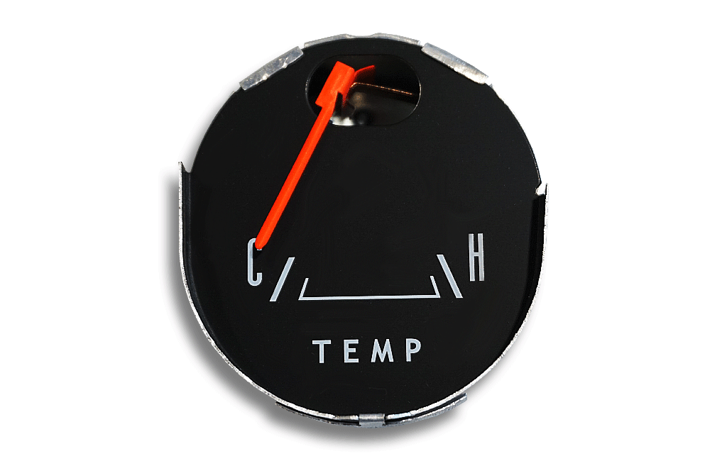 1965-1966 Ford Mustang Temperature Gauge
