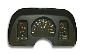 1990 Pontiac Sunbird Instrument Cluster Replacement
