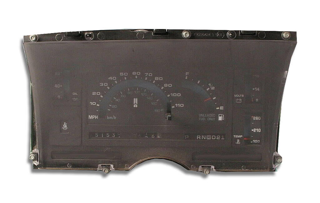 1991 - 1994 Oldsmobile Bravada Instrument Cluster Replacement