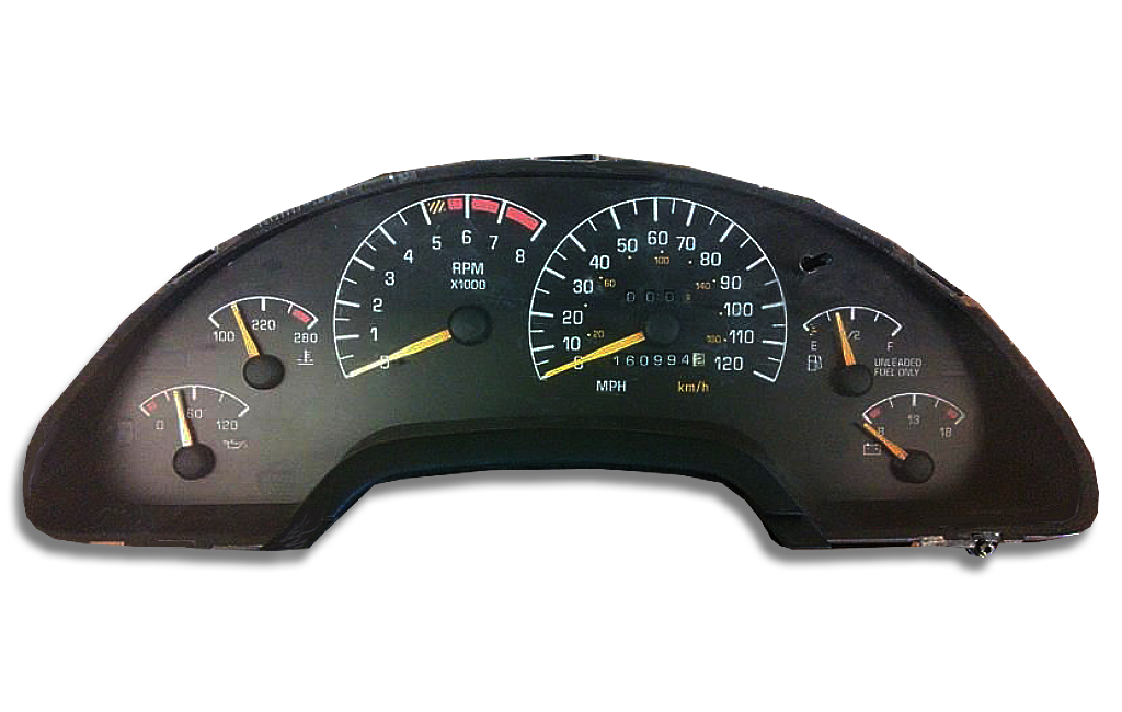 1992 Pontiac Grand Am Instrument Cluster Replacement