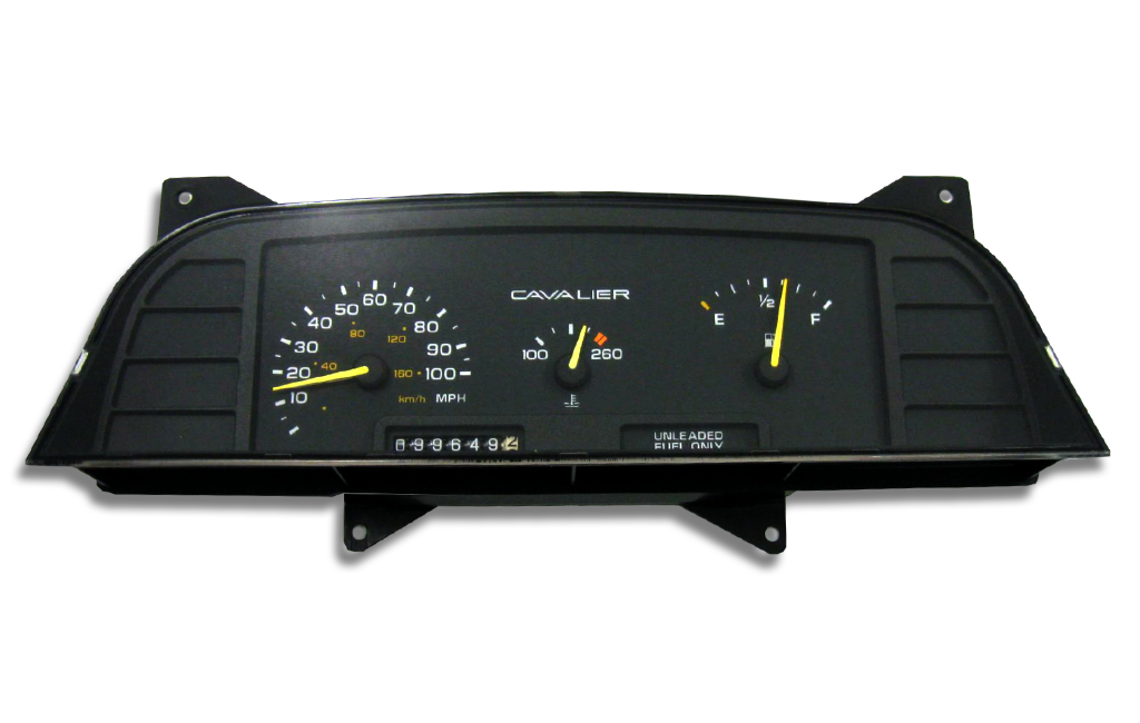 1993 Chevrolet Cavalier Instrument Cluster Replacement