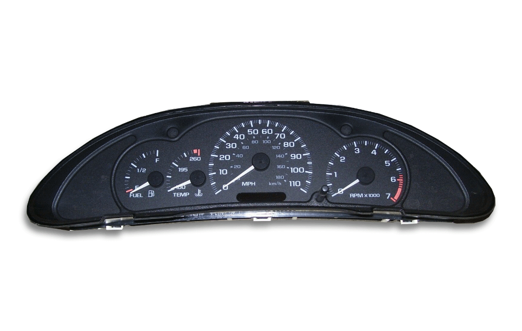 1995 Chevrolet Cavalier - Instrument Cluster Replacement