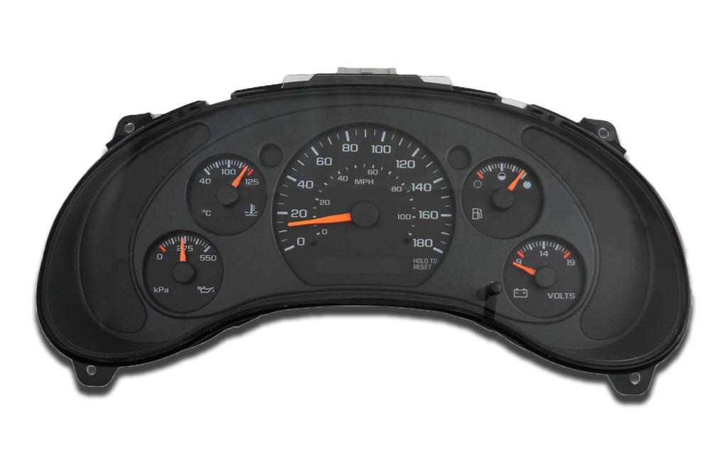 2000 to 2004 GMC Sonoma - Instrument Cluster Repair