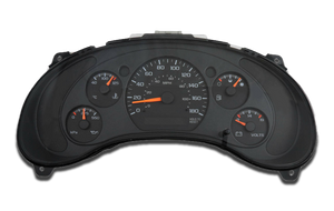 2000 to 2001 GMC Jimmy - Instrument Cluster Repair
