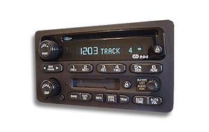 2001 - 2002 Chevrolet Venture AM/FM CD Player Radio Replacement