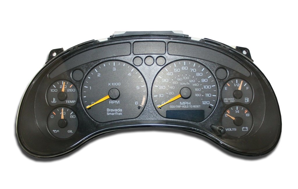 1998 - 1999 Oldsmobile Bravada - Instrument Cluster Replacement