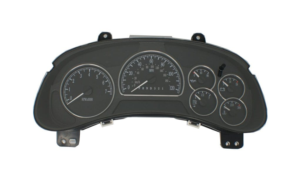 2006 - 2007 Buick Rainier - Instrument Cluster Repair