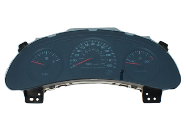2000 - 2005 Chevy Impala 3 gauge - Instrument Cluster Replacement
