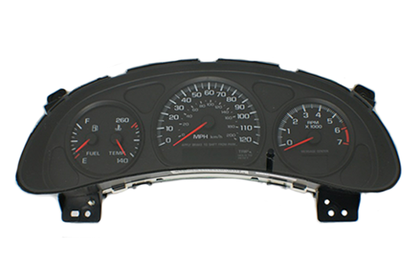 2000 - 2005 Chevy Impala 4 gauge - Instrument Cluster Repair