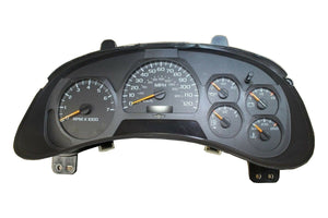 2002 - 2007 Chevy Trailblazer Cluster Replacement