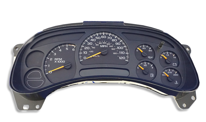 03-06 Silverado Instrument Cluster Replacement