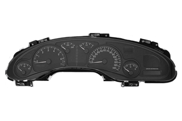 2000 - 2005 Pontiac Bonneville with DIC - Instrument Cluster Replacement