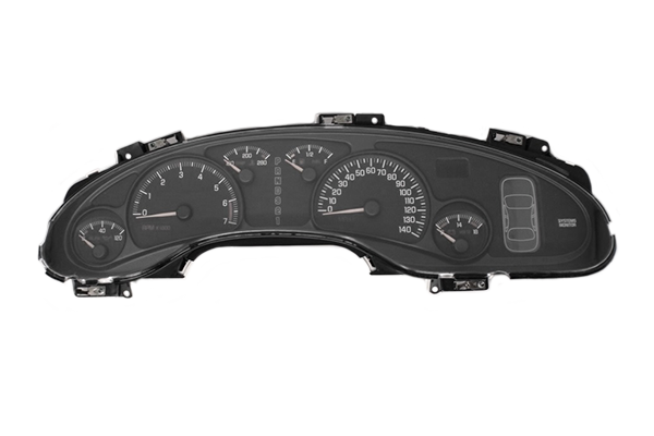 2000 - 2005 Pontiac Bonneville without DIC - Instrument Cluster Repair